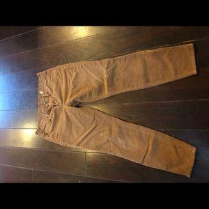 J crew corduroys pants